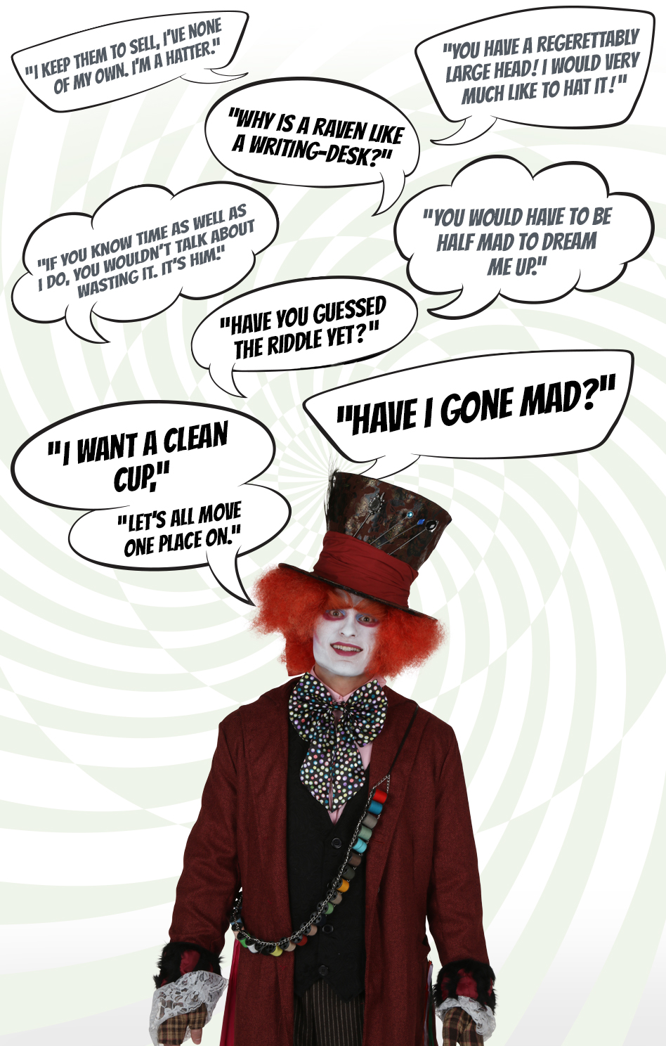Mad Hatter Quotes