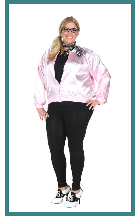 Full Coverage Womens Plus Size 50s Costume