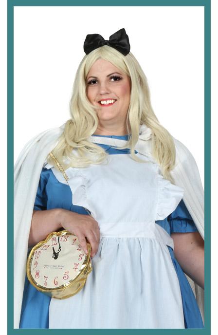Womens Blonde Alice Wig