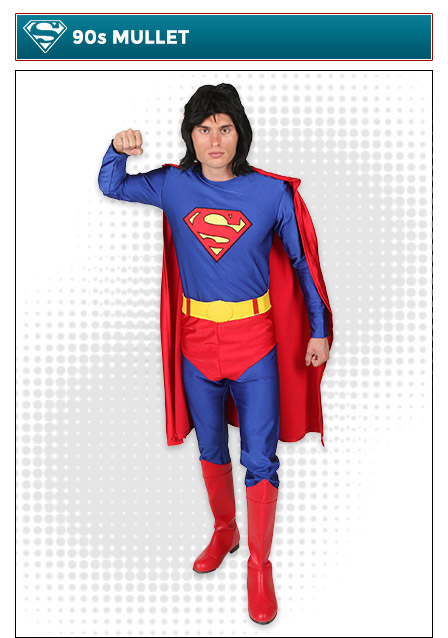 90s Mullet Superman Costume Idea
