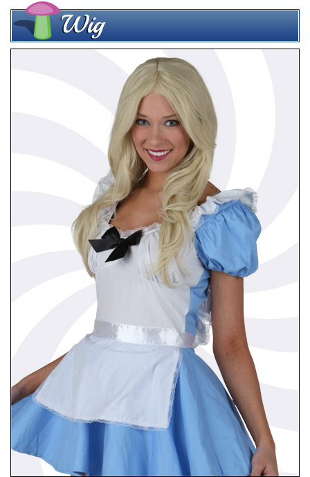 Alice in Wonderland Costume Wig