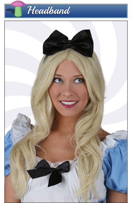 Alice in Wonderland Costume Headband