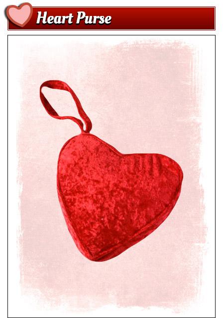 Heart Purse Valentine's Day Accessory
