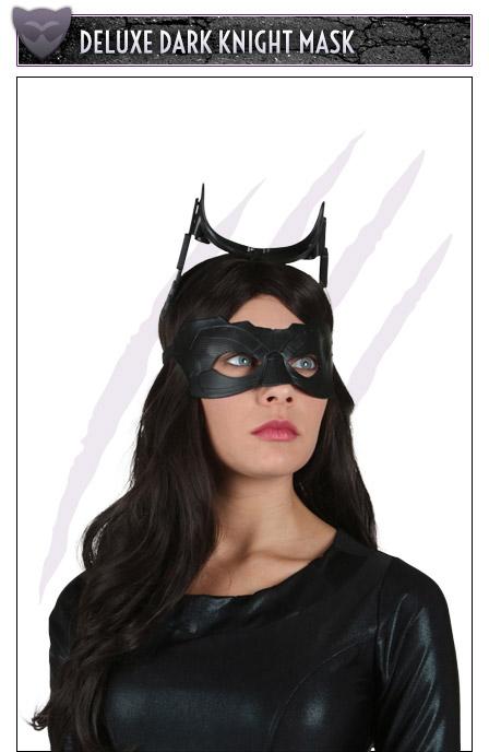 Deluxe Dark Knight Mask