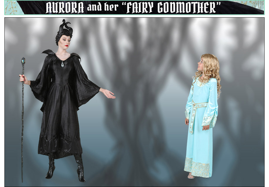 Aurora and Her Fairy Godmother