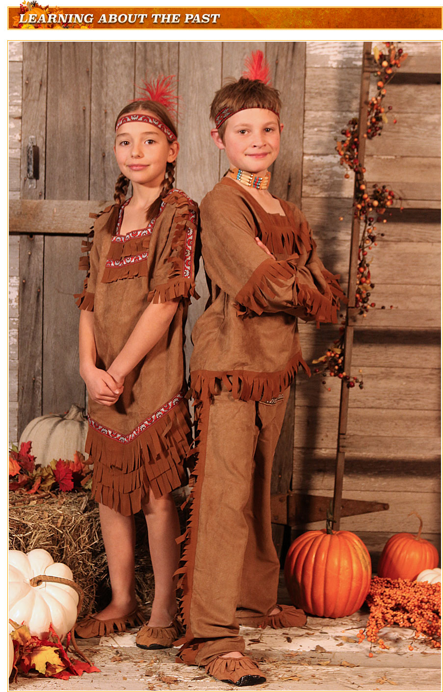 Kids Native American Costumes
