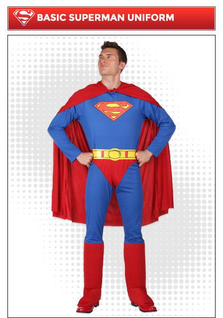 Basic Superman Costume