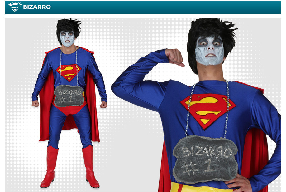 Bizarro Superman Costume
