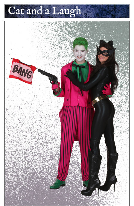Joker and Catwoman Couples Costume Idea