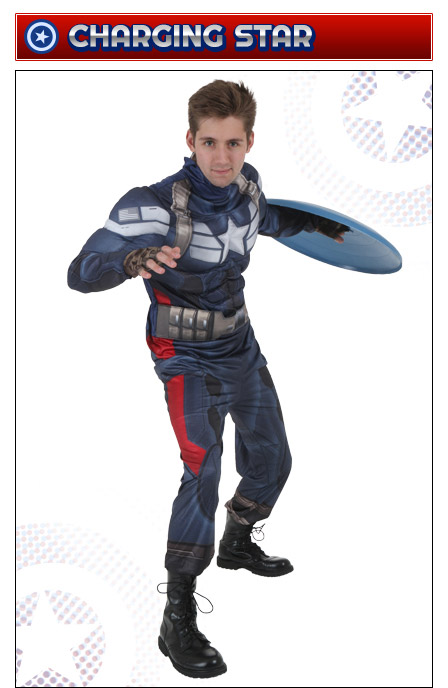 Captain America Charging
