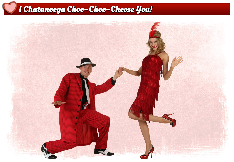 Valentine's Flapper Costumes