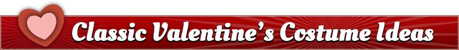 Classic Valentine's Costumes Banner