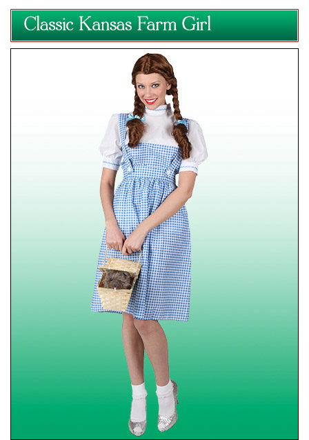 Classic Kansas Farm Girl Costume