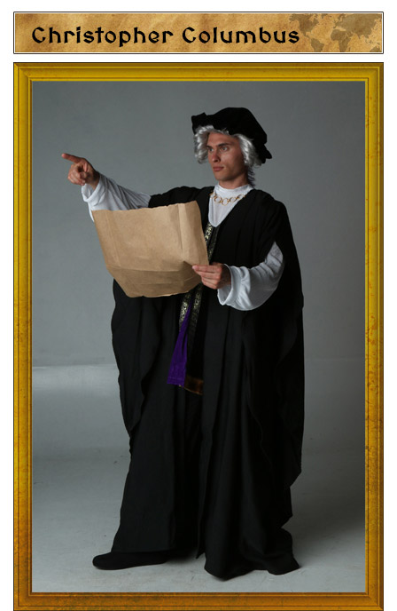 Christopher Columbus Costume Idea