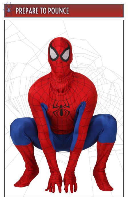 Spider-Man Pose Prepare to Pounce