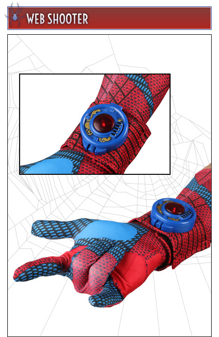 The Amazing Spider Man Web Shooters Instructions