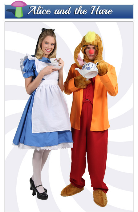 Alice and the March Hare Couples Costume
