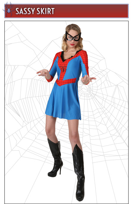 Spider-Girl Dress Costume