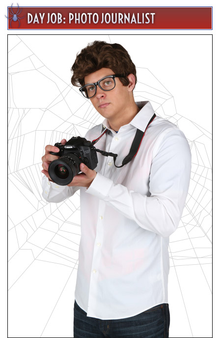 Peter Parker Photojournalist Costume Idea