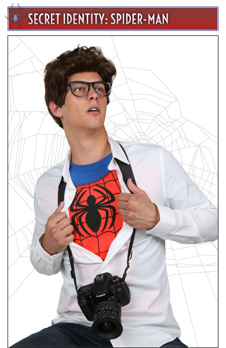 Secret Identity Peter Parker Costume