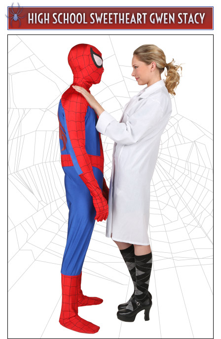 Gwen Stacy and Spider-Man Couples Idea