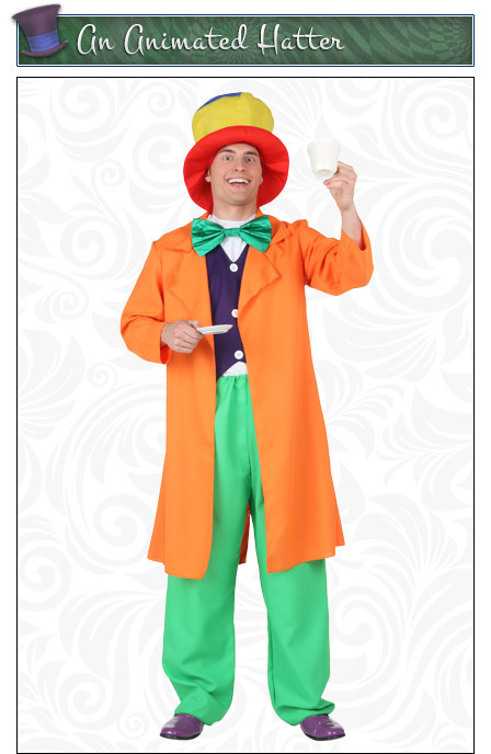 Animated Mad Hatter Costume