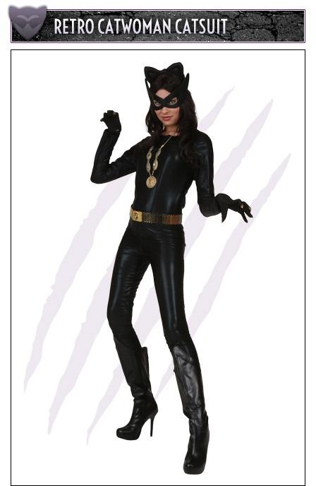 Retro Catwoman Catsuit