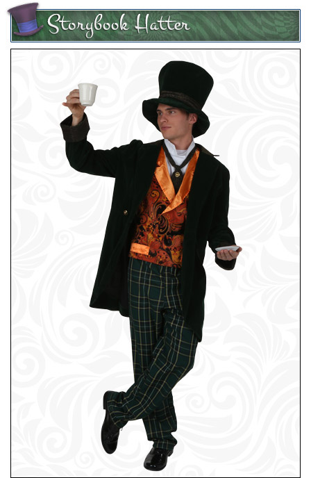 Storybook Mad Hatter Costume