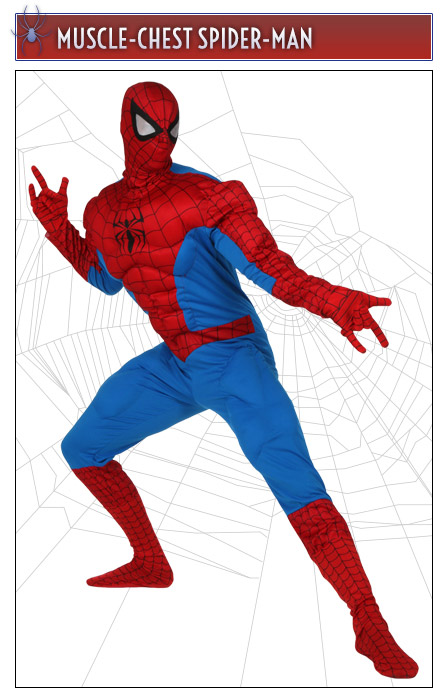 Muscle-Chest Spider-Man Costume