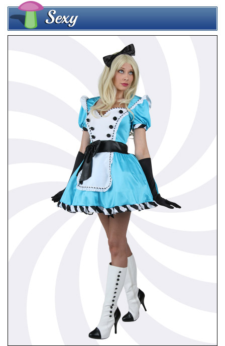 Sexy Alice in Wonderland Costume