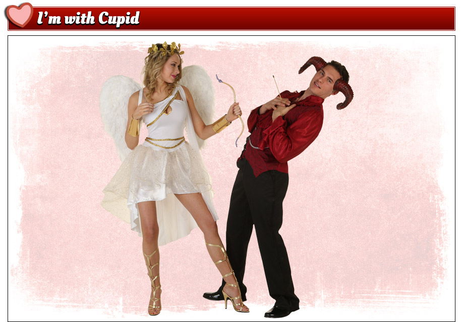 Valentine's Day Cupid and Devil Costumes