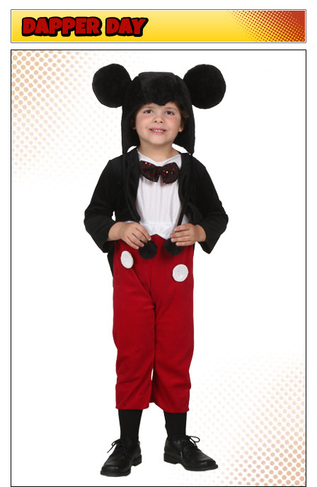 Classic Kids Mickey Mouse Costume