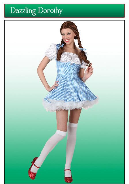 Dazzling Sequin Dorothy Costume
