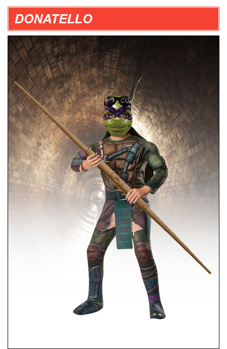 Kids TMNT Movie Donatello Costume
