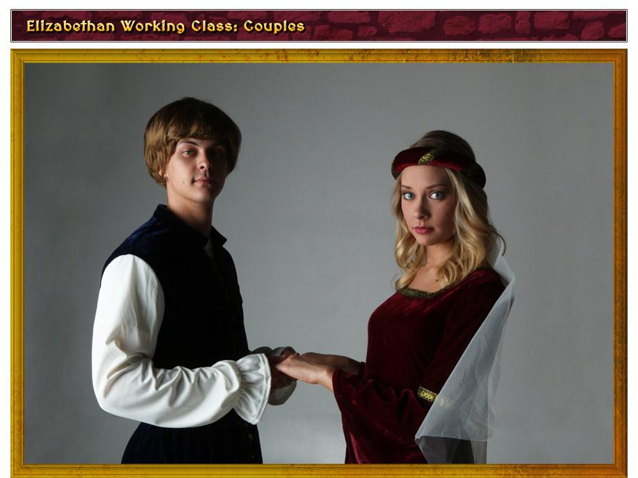 Elizabethan Working Class Couples Costume Idea