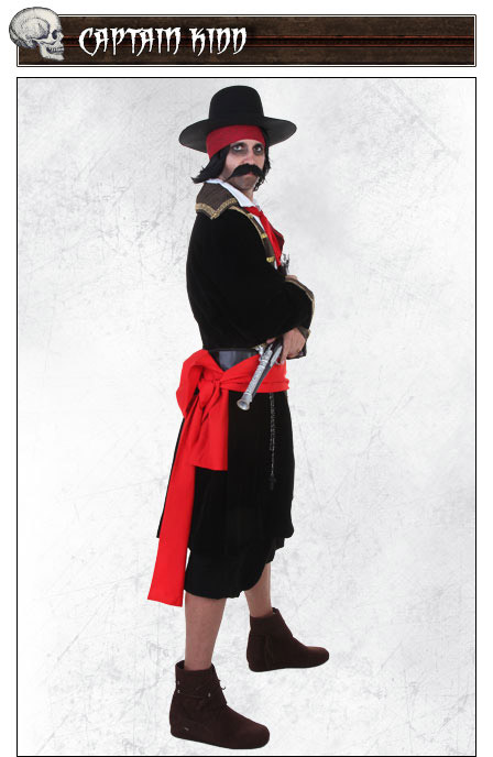 Captain Kidd Costume