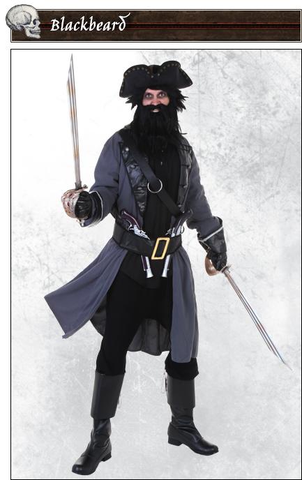 Blackbeard Pirate Costume