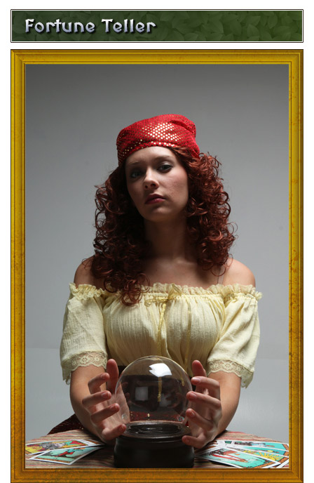 Renaissance Fortune Teller Gypsy Costume Idea