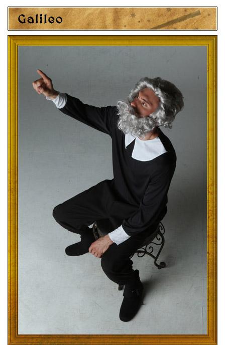 Galileo Costume Idea