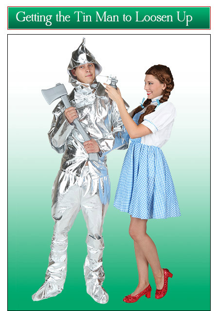 Dorothy and the Tin Woodsman Couples Costume Idea