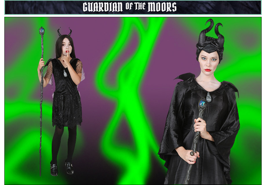 Guardian of the Moors Maleficent Poses