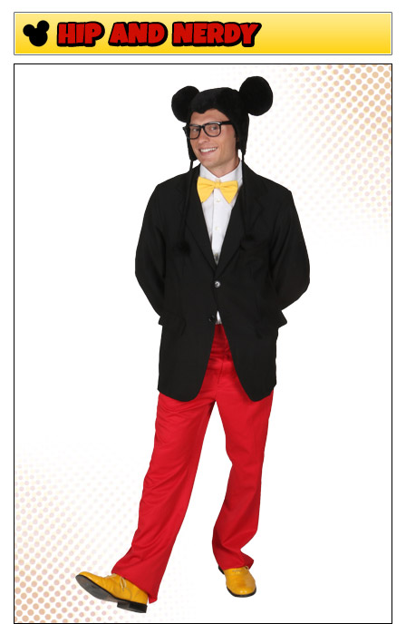 Hip and Nerdy Mickey Mouse Costume