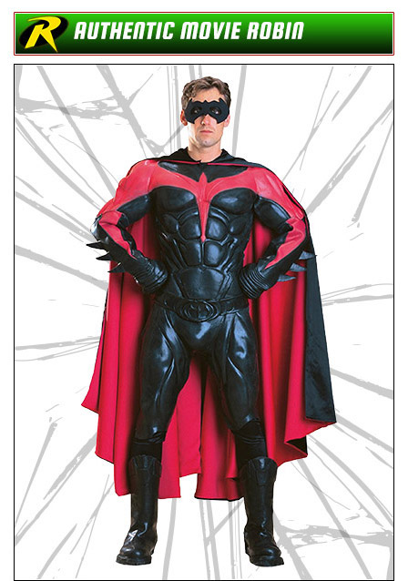 Authentic Movie Robin Costume