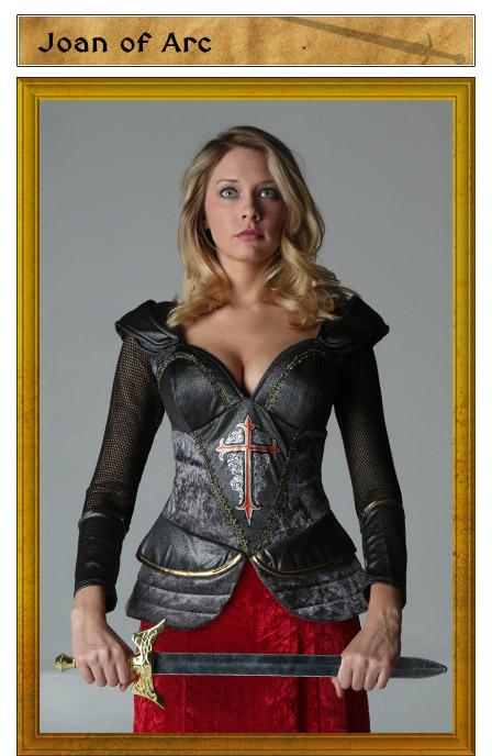 Joan of Arc Costume Idea