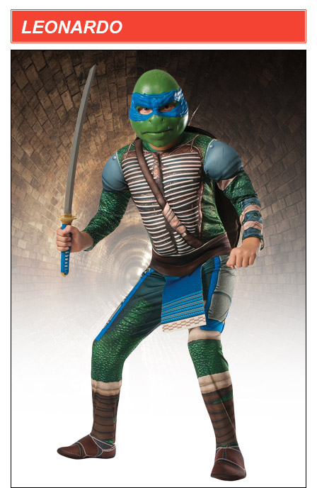 Kids TMNT Movie Leonardo Costume