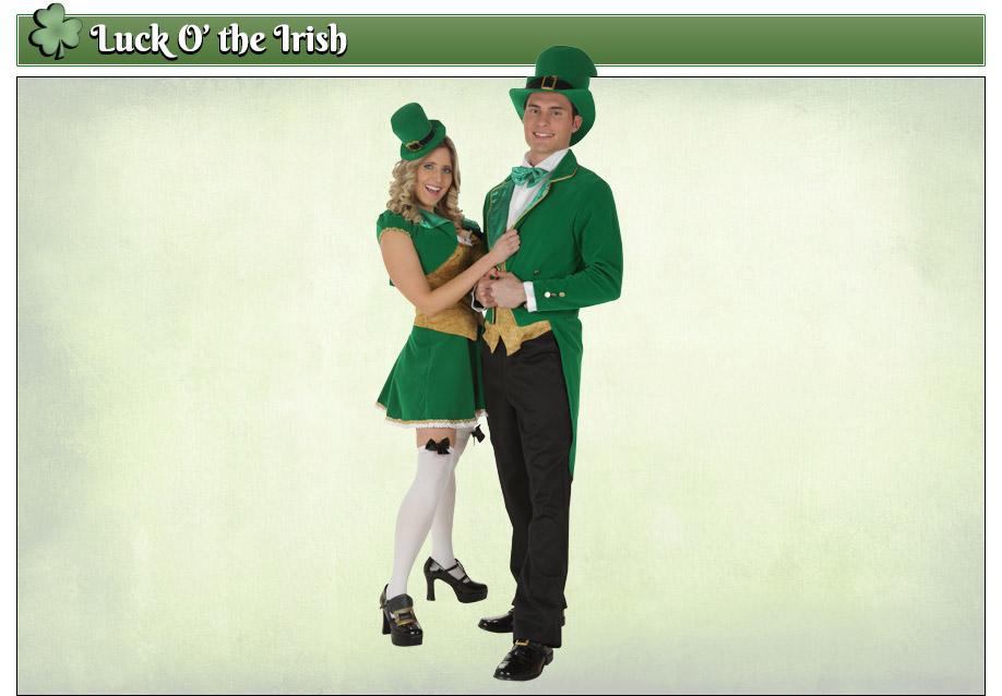 Leprechaun Couples Costumes