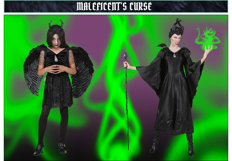 Maleficent's Curse Maleficent Poses