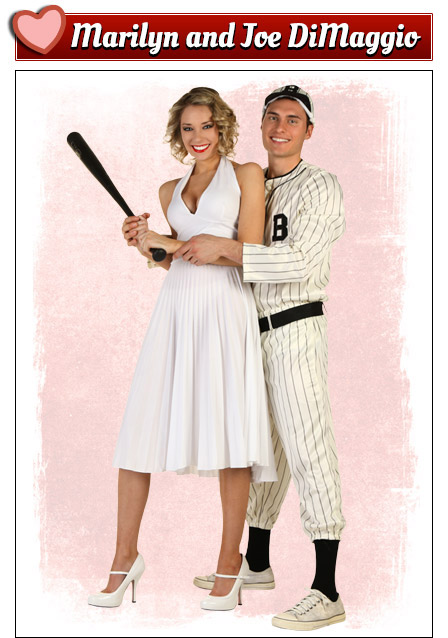 Joe Dimaggio and Marilyn Monroe Costumes