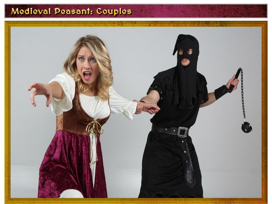 Medieval Peasant Couples Costume Idea