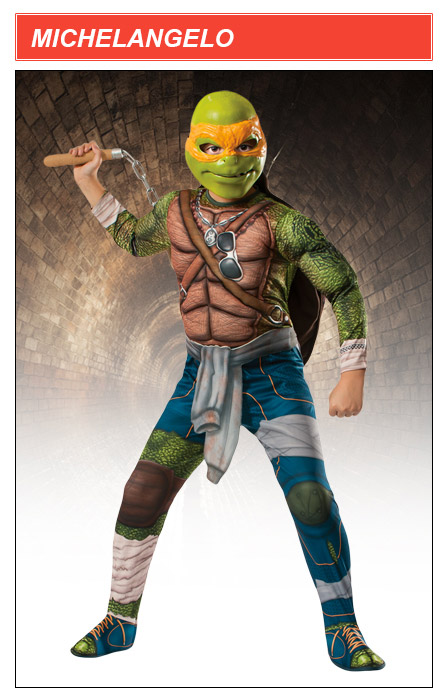 Kids TMNT Movie Mochelangelo Costume